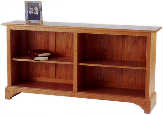 - Horizontal Bookcase